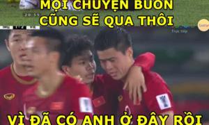 Fan chế ảnh động viên cầu thủ Việt Nam sau thất bại ở Asian Cup