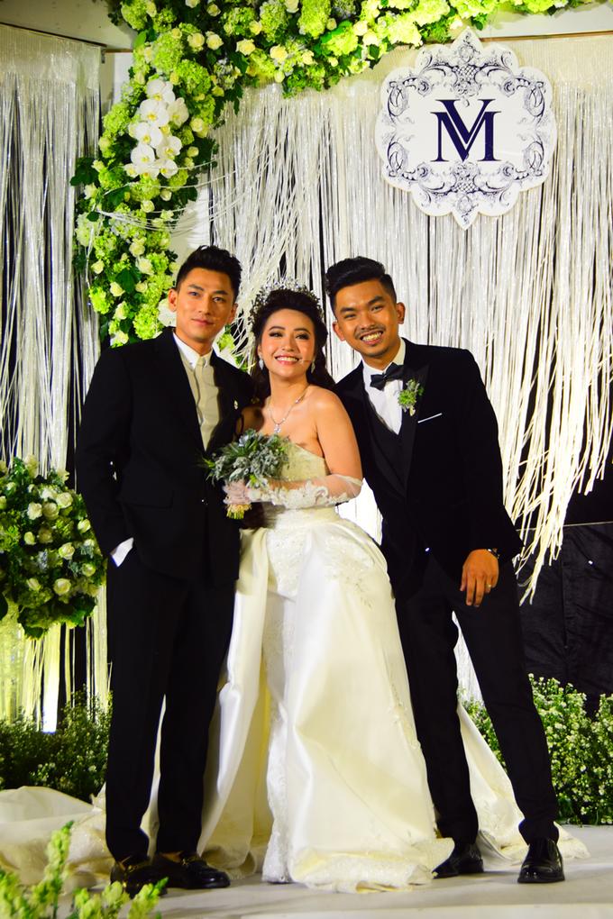 Dàn sao dự tiệc cưới của ca sĩ MiA