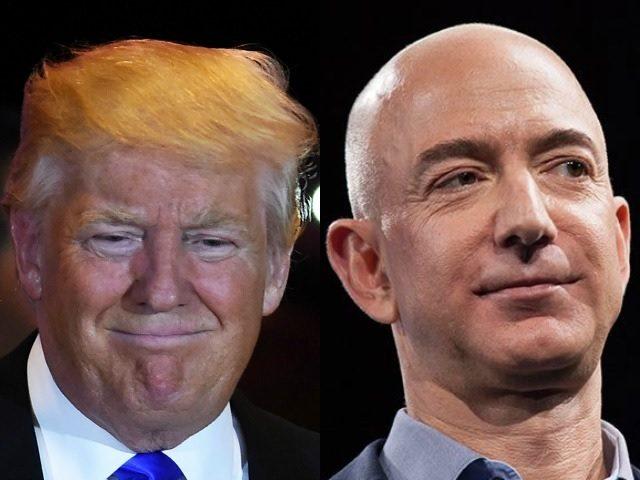 Trump thường bị tờbáo dưới tayJeff Bezoscông kích.