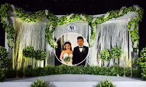 Tiệc cưới xanh lá của MiA ở TP HCM