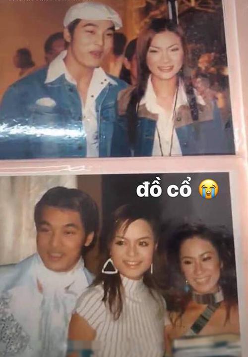 Phạm Quỳnh Anh đăng ảnh chụp cùng Ưng Hoàng Phúc, Lương Bích Hữu nhiều năm trước.
