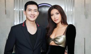 Minh Tú, Võ Cảnh sóng đôi tại sự kiện ở Nha Trang