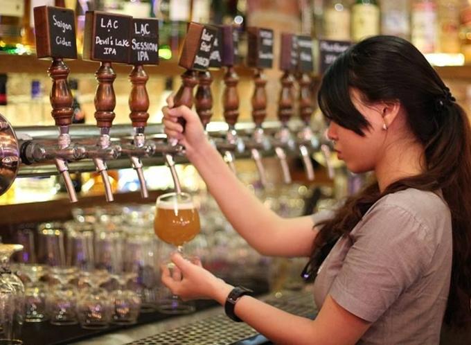 Địa điểm cuối tuần: Bia thủ công Sài Gòn - 2