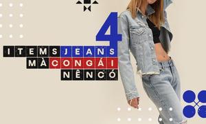 Quỳnh Anh Shyn gợi ý 4 món đồ jeans phái đẹp nên có