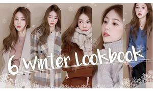 6 set đồ ấm áp phong cách Hàn Quốc