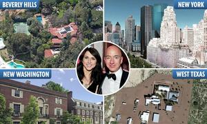 Những bất động sản tỷ USD của gia đình ông chủ Amazon