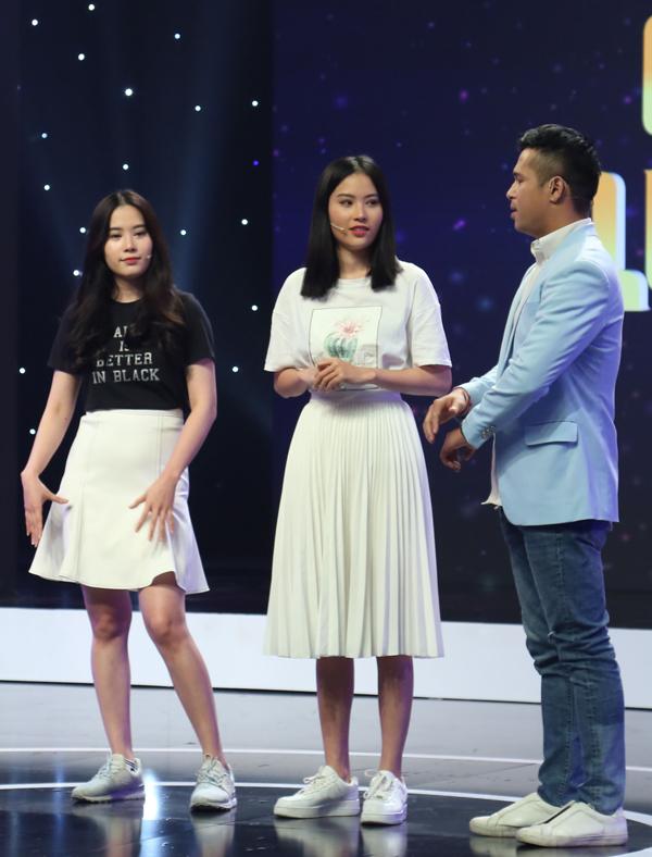 Chị em Nam Em - Nam Anh được mời tham gia gameshow Giác quan thứ sáu. Ca sĩ Trương Thế Vinh cầm trịch chương trình này.