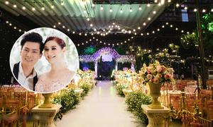 Tiệc kỷ niệm ngày cưới mang phong cách châu Âu của Lâm Khánh Chi