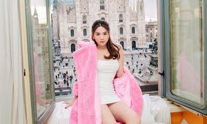 Ngọc Trinh nghỉ tại căn hộ đắt đỏ ở Italy
