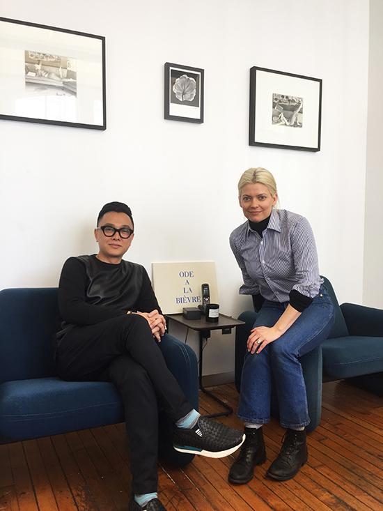 Công Trí bắt tay cùng stylist Kate Youngra mắ bộ sưu tập mới tại New York Fashion Week Thu Đông 2019.