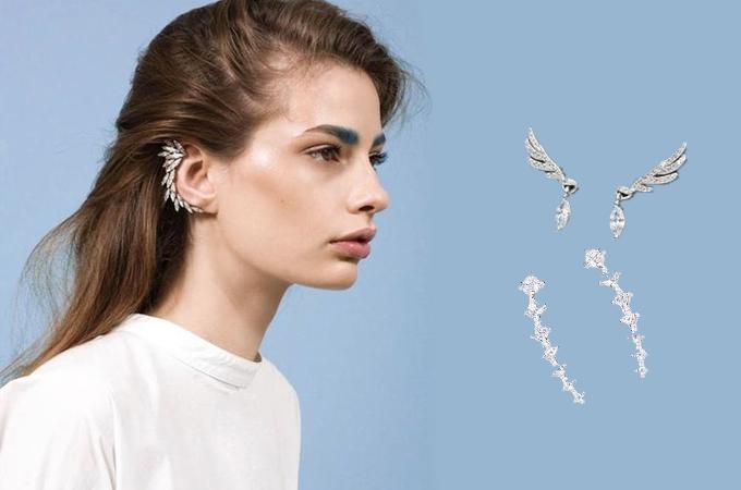 Khuyên tai bọc vành(Ear cuff)là dạng khuyên có kiểu dáng bản rộng, phủ hết mặt trước của vành tai. Loại này có thể cần đục lỗ hoặc không, chỉ cần kẹp vào vành tai. Với những người mới dùng ear cuff, nên chọn những kiểu dáng đơn giản, nhỏ nhắn thay vì kiểu khuyên lớn cầu kỳ. Store Ngôi Sao có đa dạng các loại bông tai hợp kim với giá chỉ từ 17.000 đồng.
