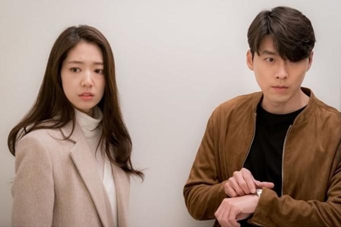 Hyun Bin và Park Shin Hye trong tập 14 của phim Ký ức Alhambra.