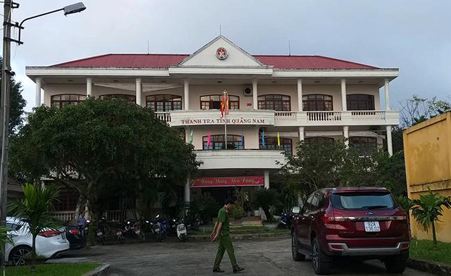 Trụ sở Thanh tra tỉnh Quảng Nam, nơi ông Nghị công tác. Ảnh: Sơn Thủy.