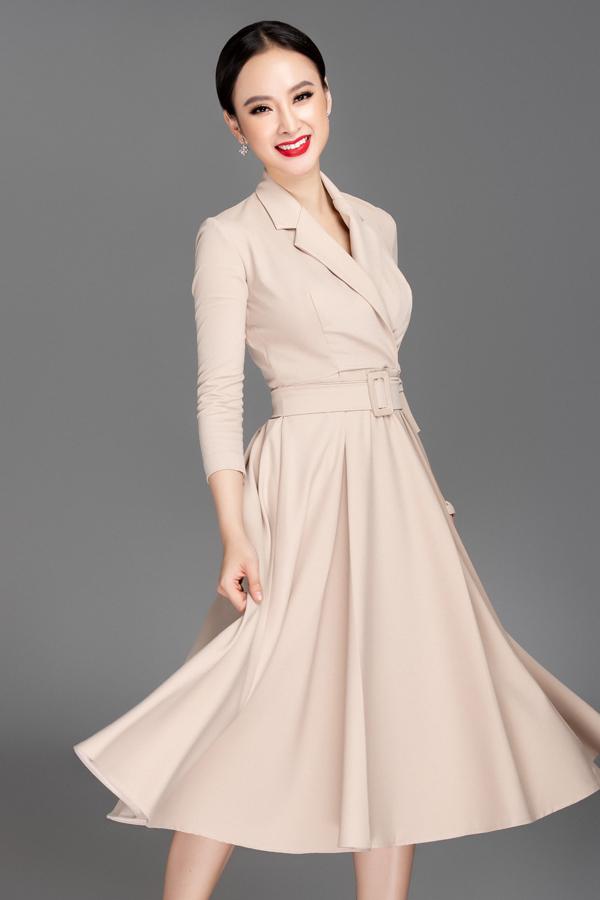 Váy hai dây dáng dài, váy vest mang hơi hướng cổ điển sẽ khiến phái đẹp tự tin xây dựng phong cách thanh lịch, hiện đại trong những ngày đầu năm mới.