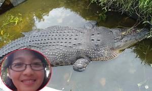 Nhà khoa học bị cá sấu dài 5 m ăn thịt