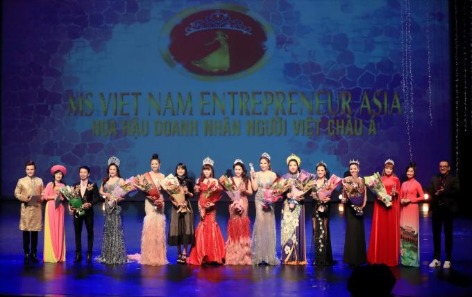 Kim Oanh đăng quang Hoa hậu Doanh nhân người Việt châu Á 2019  - 7