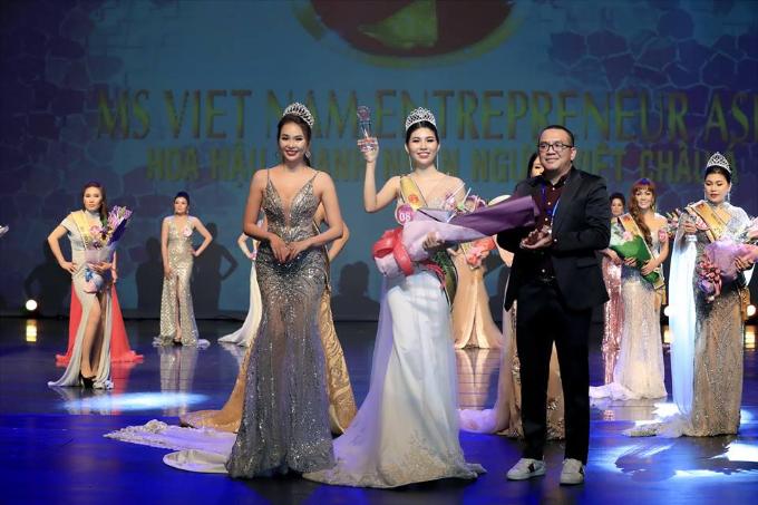 Kim Oanh đăng quang Hoa hậu Doanh nhân người Việt châu Á 2019  - 3