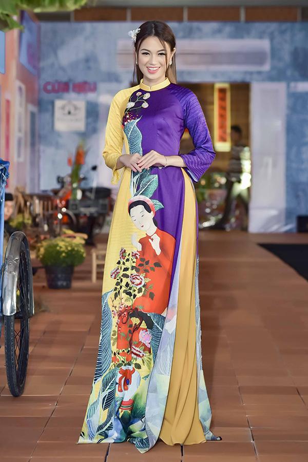 Áo dài hoa cho xuân Kỷ Hợi - 7