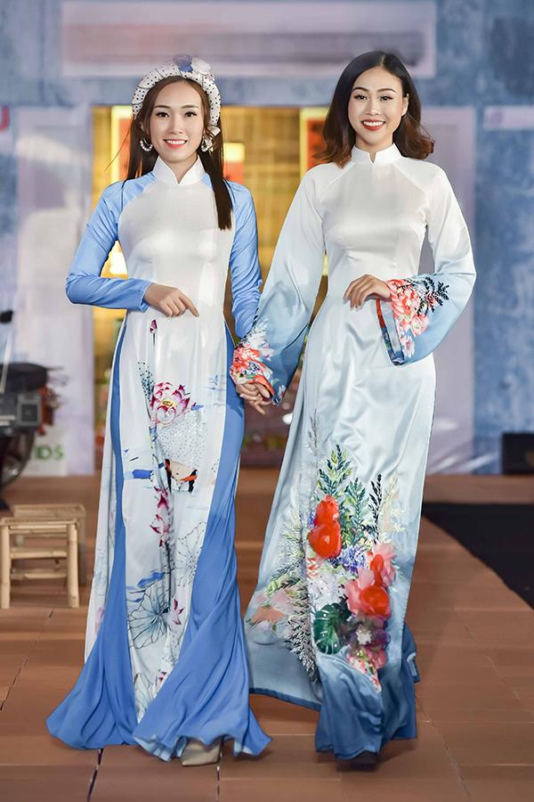 Áo dài hoa cho xuân Kỷ Hợi - 8