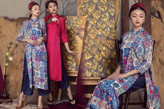 Saubộ phim Cô Ba Sài Gòn, những tà áo dài tân thời mang phong cách retro sặc sỡ trong phim nhanh chóng trở thành hot trend được giới trẻ tìm kiếm. Bên cạnh hoa văn độc đáo, mẫu áo dài còn thu hút nhờ phong cách hiện đại, trẻ trung và sang trọng.