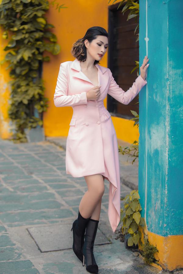 Nguyễn Hồng Nhung diện suit cách điệu - 1