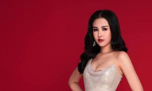 Ngân Anh tuyên bố không lộ dán ngực tại Miss Intercontinental