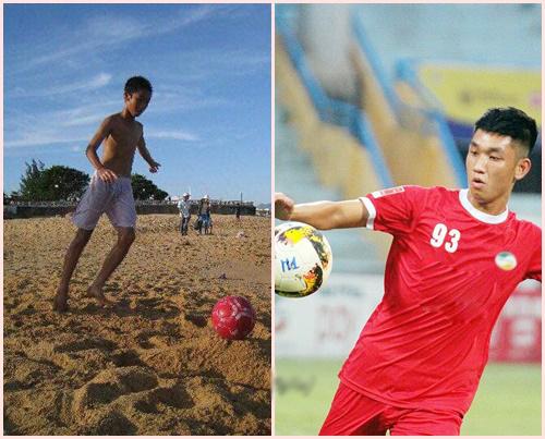 10 năm một chặng đường của Nguyễn Trọng Đại. Từ một cậu bé gầy gò, đen nhẻm còn chơi bóng trên bãi biển đến một chàng trai khoác lên mình màu áo CLB và đội tuyển U23 Việt Nam.