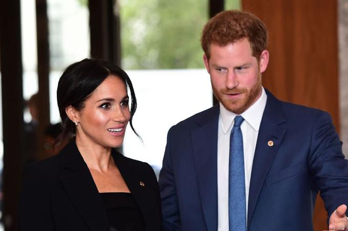 Hoàng tử Harry và Meghan tham dự lễ trao giải WellChild Awards tại tổ chức từ thiện WellChild, trung tâm thủ đô London hôm 4/9. Ảnh: PA.