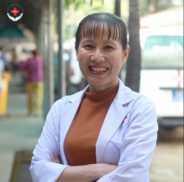 Bác sĩ Hồ Phạm Thục Lan. Ảnh: Bệnh việnNhân dân 115
