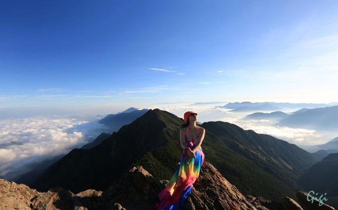 Gigi Wu bị cho là đã chết vì lạnh khi ngã và rơi xuống giữa một khe núi. Ảnh: AsiaWire.