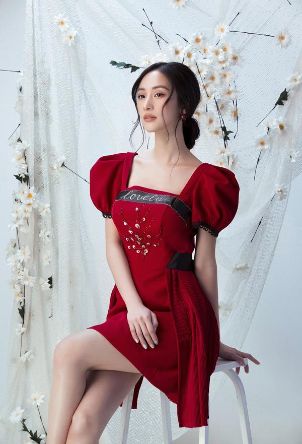 Đỗ Long giới thiệu loạt váy ngắn cho buổi tiệc mùa xuân - 2