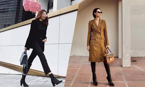 3 kiểu áo khoác được sao Việt ưa chuộng
