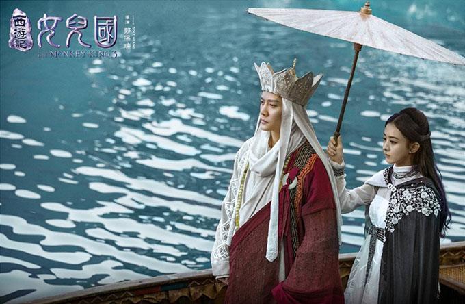 Phim Tây du ký 3: Nữ nhi quốc do Phùng Thiệu Phong và Triệu Lệ Dĩnh đóng chính là một trong những phim dở nhất năm.