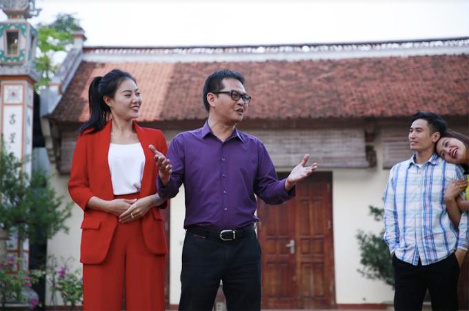 Trung Hiếu bắt cặp với Thanh Hương trong phim hài Tết Mr Lù 2.