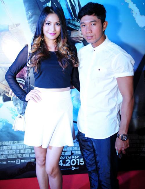 Diễn viên Yaya Trương Nhi và nhạc sĩ Lương Bằng Quang.