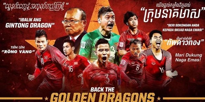 Fan Đông Nam Á mong niềm tự hào Việt Nam hạ Nhật Bản