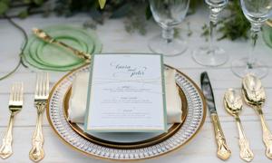 14 cách để mang sắc vàng đồng vào đám cưới