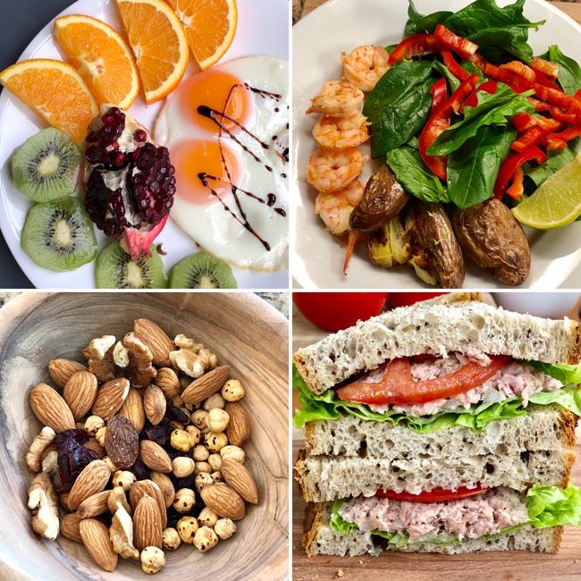 Eat Clean cho phép ăn đủ các nhóm chất, song cần chú trọng ở khâu chọn lựa thực phẩm và chế biến sao cho giữ lại được nhiều dinh dưỡng nhất có thể.