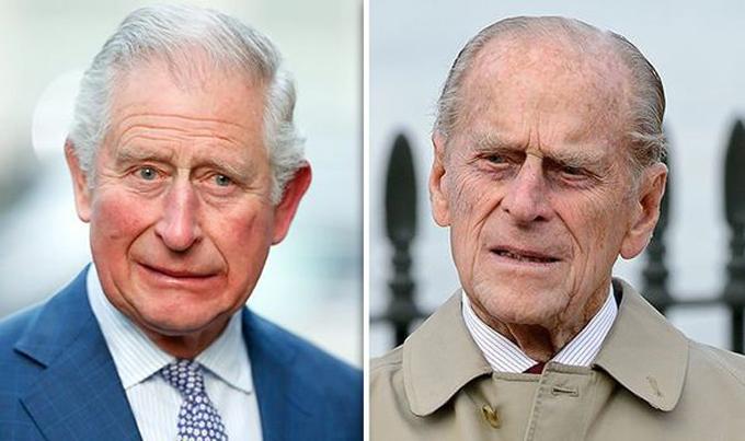 Mối quan hệ giữa Thái tử Charles với bố, Hoàng thân Philip, không tốt đẹp từ nhỏ. Ảnh: Express.