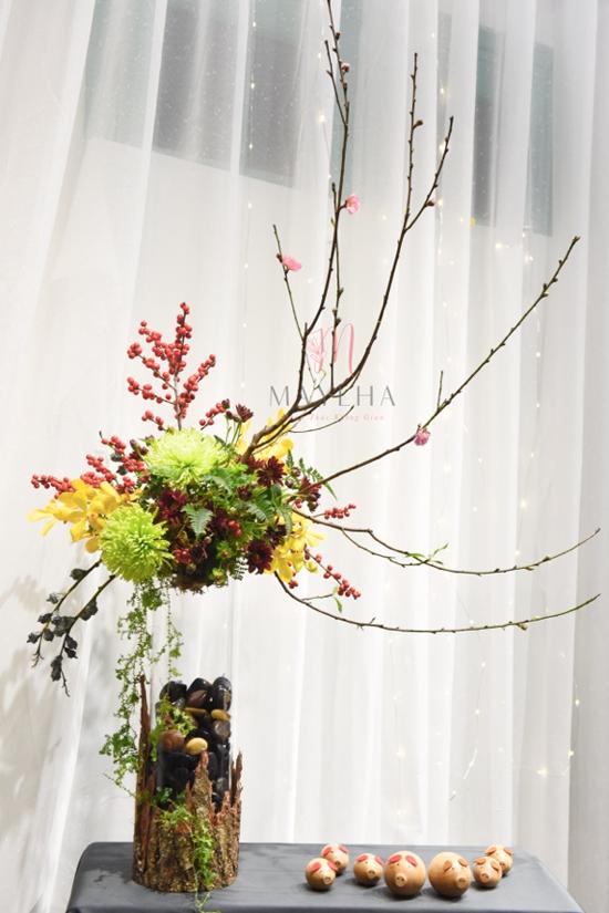 Một tác phẩm của tiệm hoa MayLha  mang ý nghĩa của niềm tin, hy vọng, vận may.