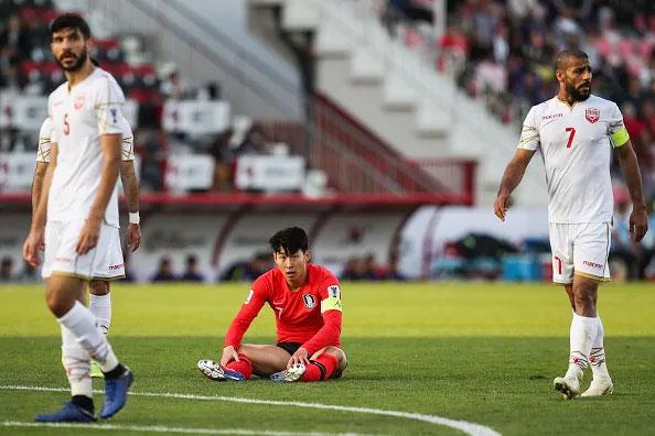 Son Heung-min và các đồng đội có trận đấu vất vả trước Bahrain.