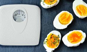 Thực đơn ăn kiêng với trứng luộc giúp giảm 9 kg sau 2 tuần