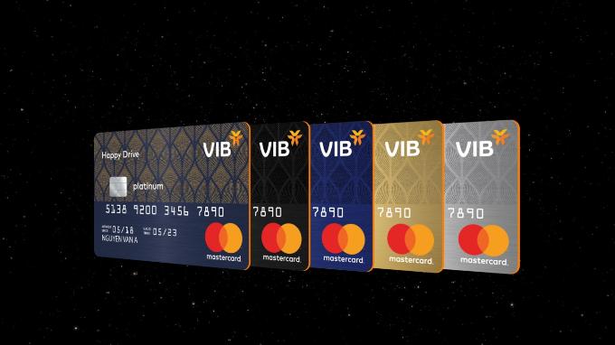 5 dòng thẻ nổi trội và ưu việt của VIB. Thông tin chi tiết liên hệtổng đài 18008192 hoặc truy cập vib.com.vn.
