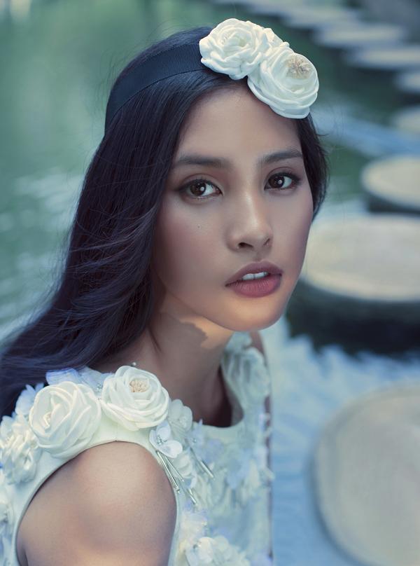Tiểu Vy được nhiều người khen ngợi nhờ vẻ đẹp trong sáng, căng trànnét thanh xuân.
