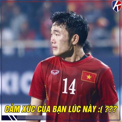 Tiếc nuối là cảm xúc chung của cả các cầu thủ lẫn người hâm mộ sau khi để thua 0-1 trước Nhật Bản
