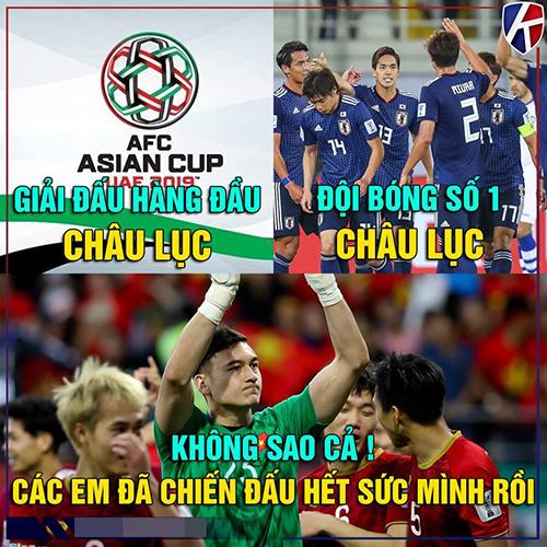 Nhật Bản là đội bóng đẳng cấp hơn hẳn chúng ta về mọi mặt trước trận đấu. Chỉ để thua 1-0, các cầu thủ của tuyển Việt Nam đã quá tuyệt vời.