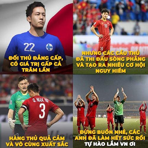 Dù thua nhưng tuyển Việt Nam đã có một trận đấu đáng tự hào trước đối thủ đẳng cấp.