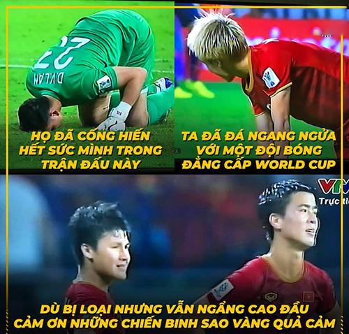 Tạm biệt Asian Cup 2019. Các anh về nhưng vẫn ngẩng cao đầu.
