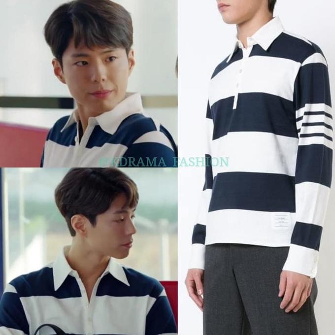 Gia cảnh bình thường, Park Bo Gum vẫn diện đồ hiệu trong Encounter - 2