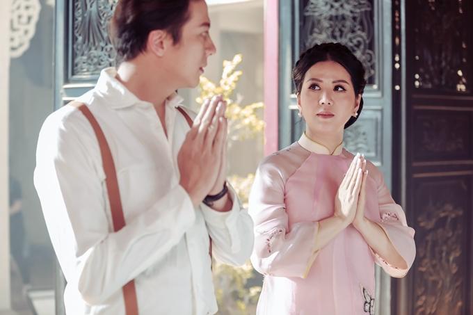 Đinh Hiền Anh tình cảm bên Hoàng Anh trong MV mới - 4